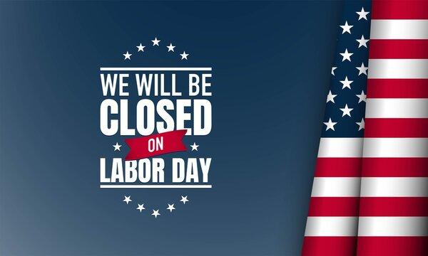 Labor Day Background. Vector Illustration