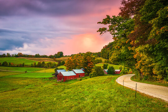 Jenne Farm in Vermont, USA