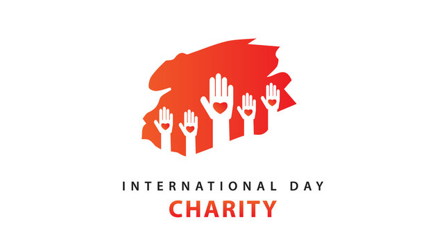 International Day of Charity. Vector Illustration