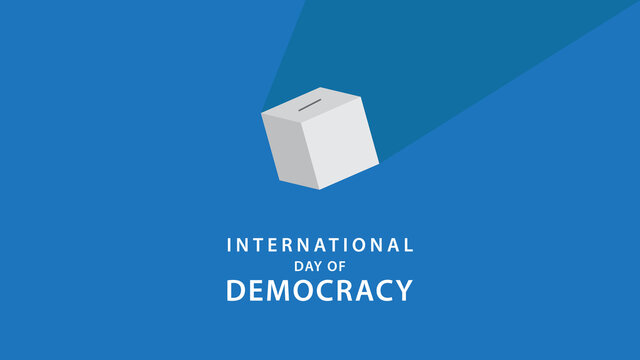 International Day of Democracy. Vector Illustration