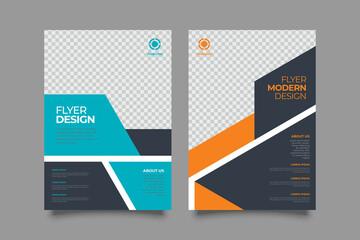 Template vector design for Brochure, Annual Report, Magazine, Poster, Corporate Presentation, Portfolio, Flyer, layout modern size A4. Vector illustration