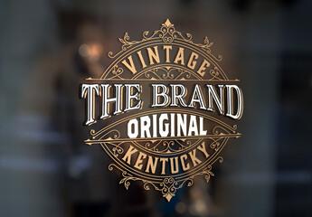Vintage Logo Layout