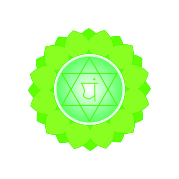 The anahata chakra is the center of our being. Anything below the anahata chakra refers to the animal component of human nature, everything above represents its divine origin. The anahata chakra is t