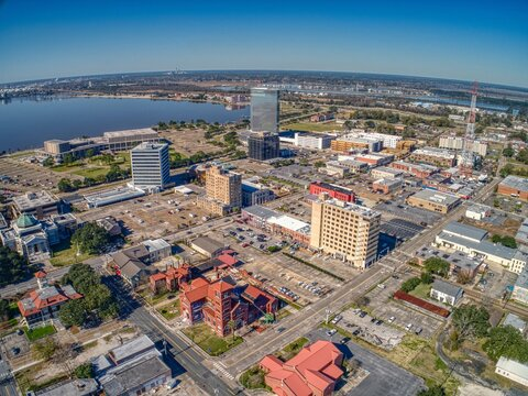 Lake Charles is a Town in Eastern Louisiana