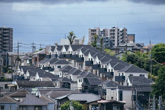 住宅地の風景