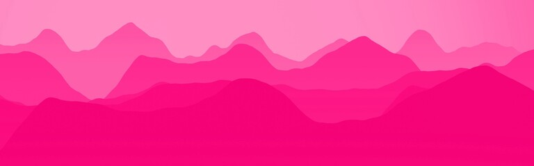 nice pink hills slopes at night time digitally made background texture illustration