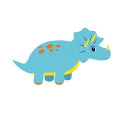 Photo sur Plexiglas Dinosaurs cute dinosaur illustration, cartoon vector for baby print