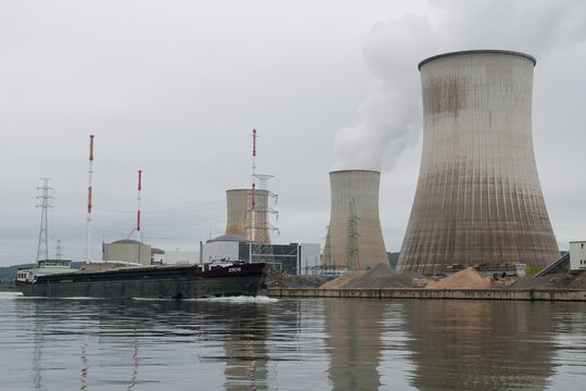 General view of the Tihange nuclear power plant of Engie Electrabel in Tihange