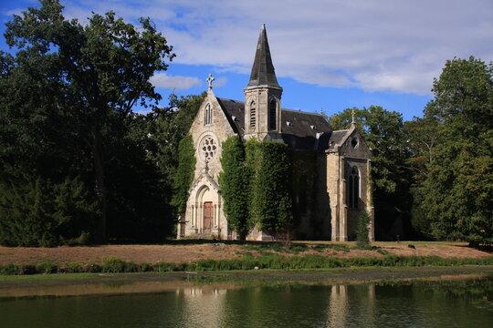 la chapelle du château de la Ferté Saint Aubin