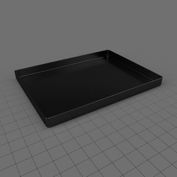 Medium oven tray