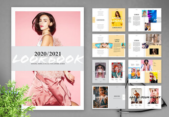 Lookbook Catalog Layout