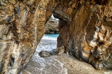Mylopotamos beach at Tsagarada of Pelion in Greece
