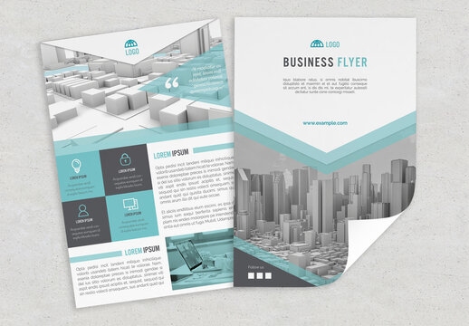 Green Style Multipurpose Flyer Layout