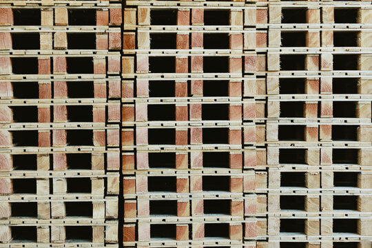 Wooden pallets pattern