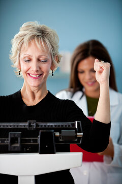 Exam Room: Woman Achieves Weight Loss Goals