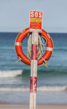 SOS Point at the Beach