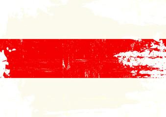 Scratched belarusian flag. A Belarusian grunge flag for you