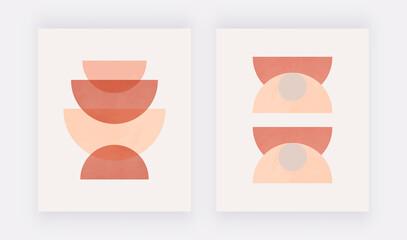 Abstract Geometric Printable Wall Art, Neutral Mid Century Art Print, Boho Decor