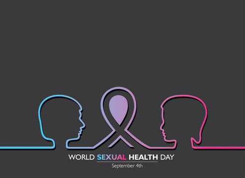 World Sexual Health Day Concept which is held on September 4th