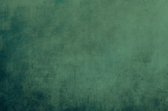 Scraped green background