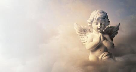 Guardian angel on the cloud