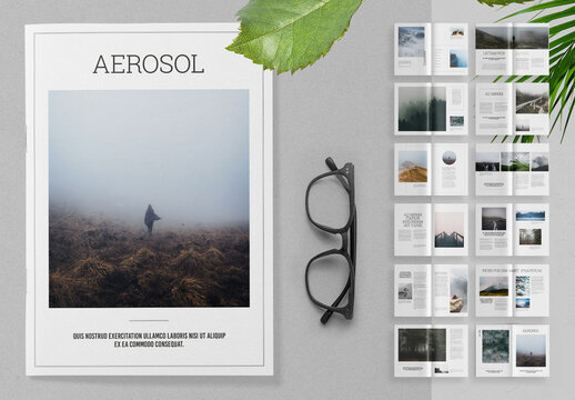 Simple Magazine Layout