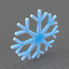 Snowflake symbol