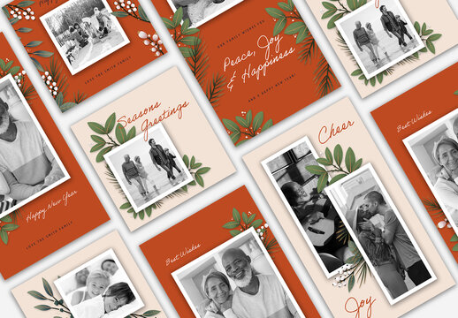 Joyful Holiday Social Media Set