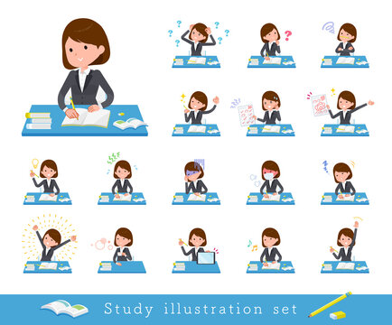 flat type business women_Study