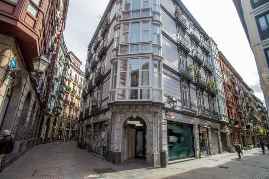In den sieben Straßen von Bilbao