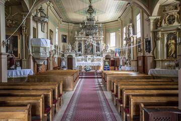 Kościół św. Jana Chrzciciela, Rębowo, pow. płocki, woj. mazowieckie - wnętrze