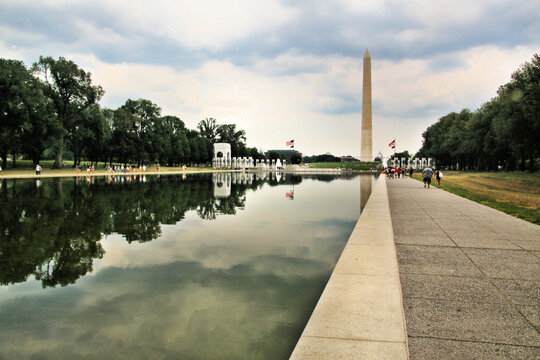A view of the Washington Monument