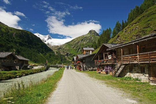 Talschluss Innergschlöss in Osttirol