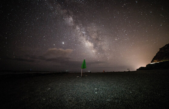 Milky Way on the Ionian Calabrian beach
