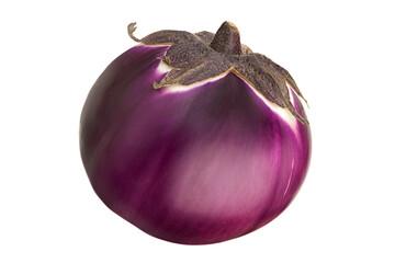 Purple round eggplant