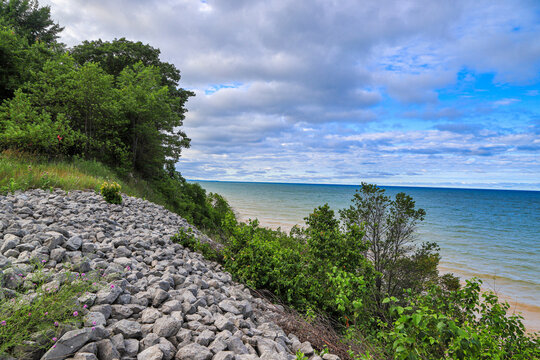Orchard Beach State Park in Manistee Michigan