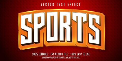 Fototapeta Sports editable text effect obraz