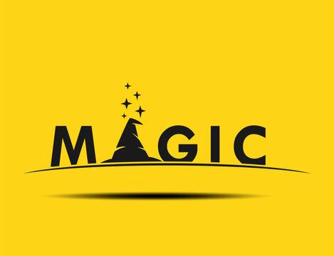 Logotype wizard 'Magic Logo Concept