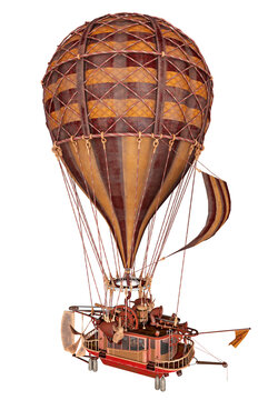 Fantasie Heißluftballon, Freisteller