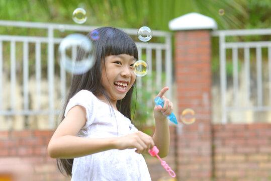 Lovely little asian girl