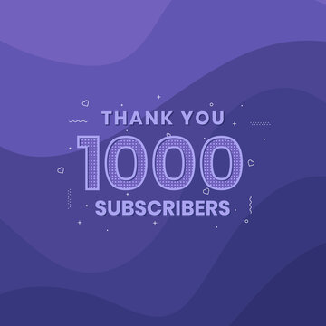 Thank you 1000 subscribers 1k subscribers celebration.