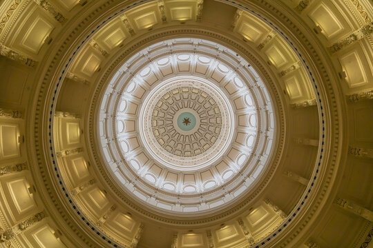 Inside Austin Texas capitol building