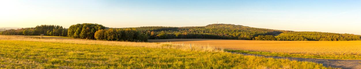 Papiers peints Orange Panorama from meadows