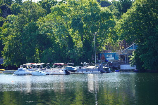 Merrimack River in Lowell MA