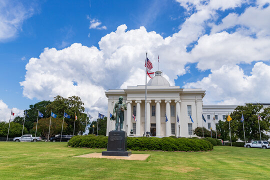 Alabama State Capitol in Montgomery, Alabama