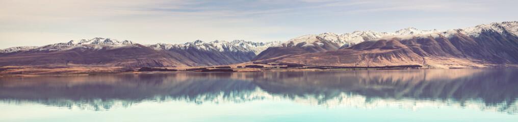 New Zealand lakes Fotomurales