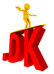 DK Top Level Domain von Dänemark, Freisteller