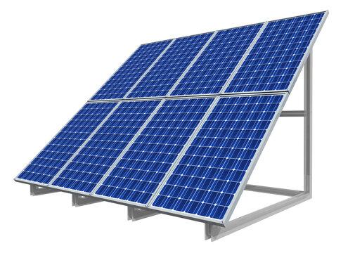 Solaranlage, Freisteller