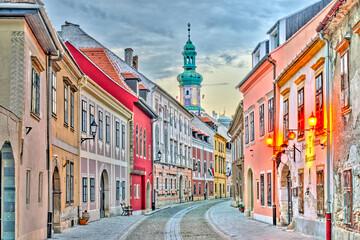 Photo sur Plexiglas Europe de l Est Sopron Landmarks, Hungary, HDR Image