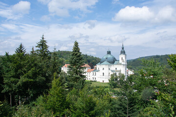 Church of the Name of the Virgin Mary Krtiny Moravia Czech Republic